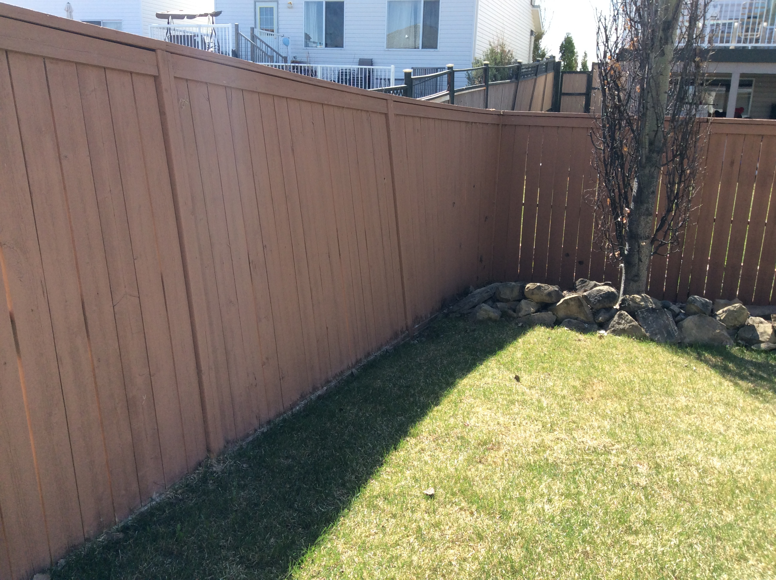 6 Foot Wood Fence