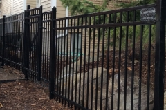 Staggered Ornamenatal Fence